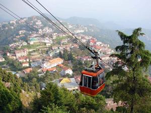 Ropeway Ride-Mussoriee